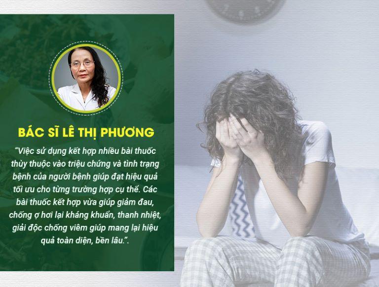 Nhận xét của bác sĩ Lê Thị Phương về bài thuốc Sơ can Bình vị tán
