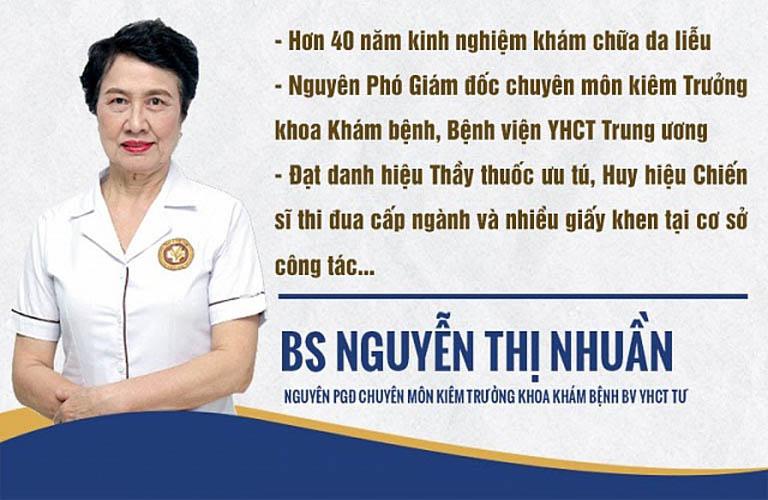 Bác sĩ Nguyễn Thị Nhuần từng đảm nhận nhiều chức vụ quan trọng