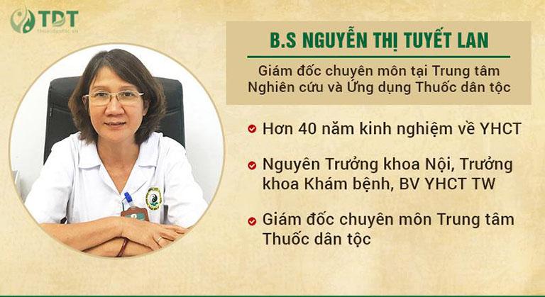 Chân dung Thạc sĩ, Bác sĩ Nguyễn Thị Tuyết Lan
