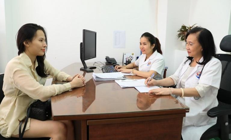 Bác sĩ Vũ Thị Thanh Dung kinh nghiệm nhiều năm công tác tại các bệnh viện lớn chuyên khoa phụ sản