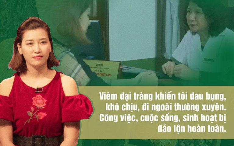 Chị Lê Thị Tuyền và nỗi đau bệnh đại tràng đeo bám dai dẳng nhiều năm