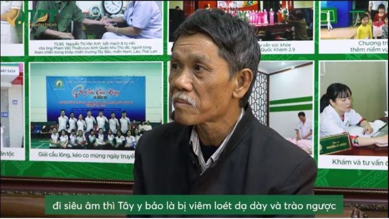 Chú Nguyễn Bá Thành, 61 tuổi, Hà Nội