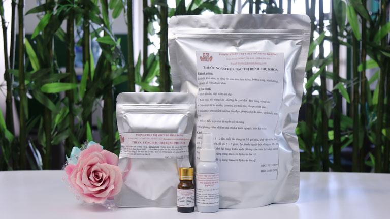 Bài thuốc Phụ Khang Đỗ Minh điều trị dứt điểm bệnh huyết trắng