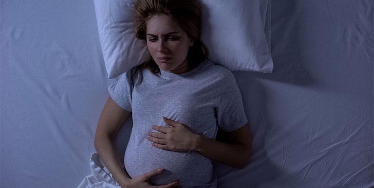 bà bầu mất ngủ 3 tháng giữa