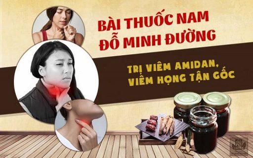 Bài thuốc viêm họng, viêm amidan Đỗ Minh Đường gia truyền hơn 150 năm