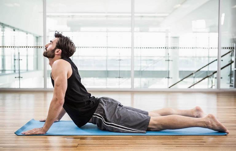 Bài tập Yoga là một trong những cách chữa mãn dục nam tại nhà rất tốt