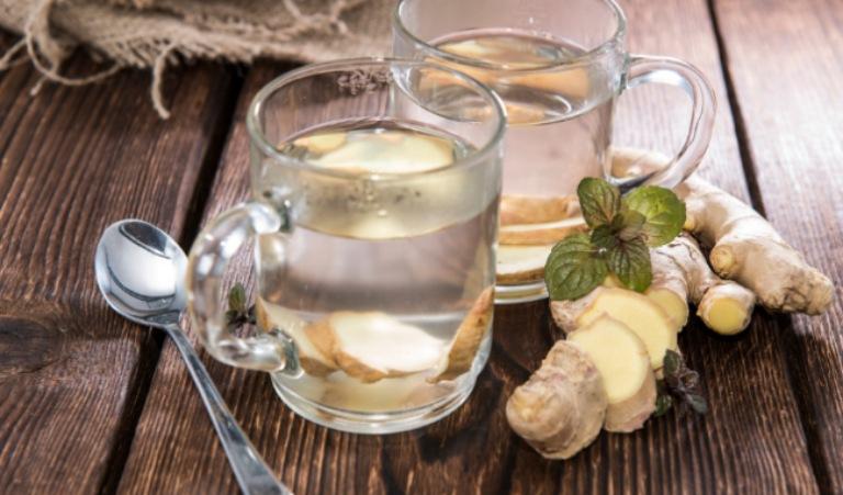 Uống nước gừng tươi mỗi ngày giúp giải tỏa tình trạng mệt mỏi và dễ ngủ hơn vào ban đêm