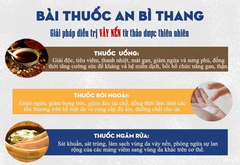 Công dụng 3 trong 1 của bài thuốc An Bì Thang mang đến hiệu quả điều trị toàn diện