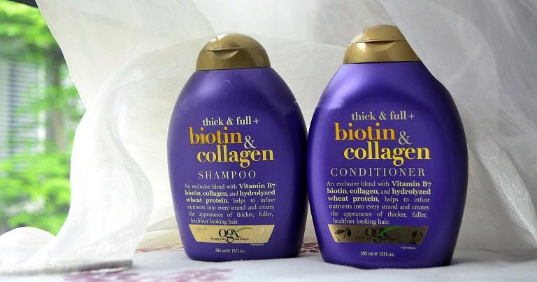 Dầu gội OGX cho tóc dầu Biotin & Collagen Shampoo