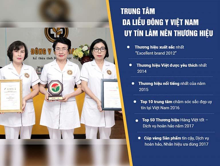 Trung tâm Da liễu Đông y Việt Nam là địa chỉ uy tín trong khám chữa bệnh da liễu bằng Đông y