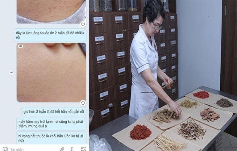 Bác sĩ Nhuần thường nhận được nhiều phản hồi tích cực từ bệnh nhân