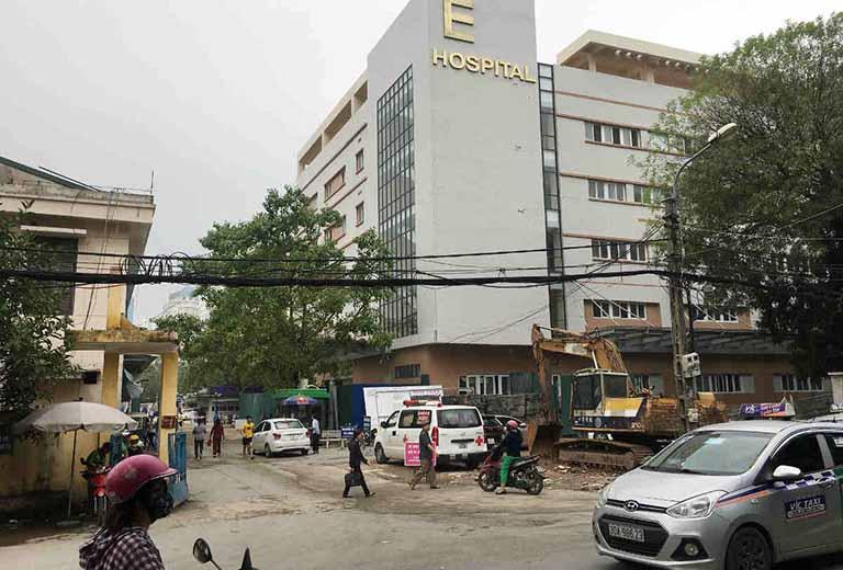Tại Hà Nội, chị em cũng có thể tìm đến bệnh viện E để thăm khám bệnh phụ khoa