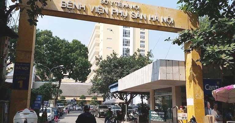 Bệnh viện Phụ Sản Hà Nội là một trong những địa chỉ khám phụ khoa uy tín