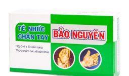 Tìm hiểu về thuốc tê nhức chân tay Bảo Nguyên