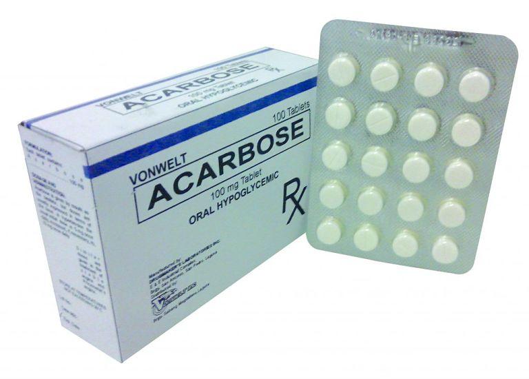 Thuốc Acarbose có tác dụng làm giảm đường huyết trong máu hiệu quả