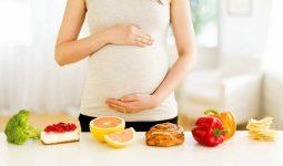 Thực đơn cho bà bầu tiểu đường 3 tháng cuối để con khỏe