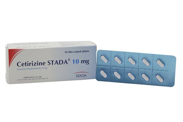 Không sử dụng Cetirizin Stada chung với các loại thuốc gây ứng chế thần kinh