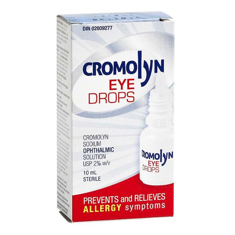 Thuốc chống dị ứng Cromolyn sẽ ngăn chặn sự phóng thích chất gây hen suyễn, dị ứngngăn chặn hoạt động của tế bào gây viêm để làm giảm tình trạng khô da
