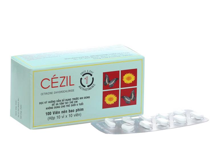 Cezil là thuốc có khả năng hạn chế sự phát triển của histamin
