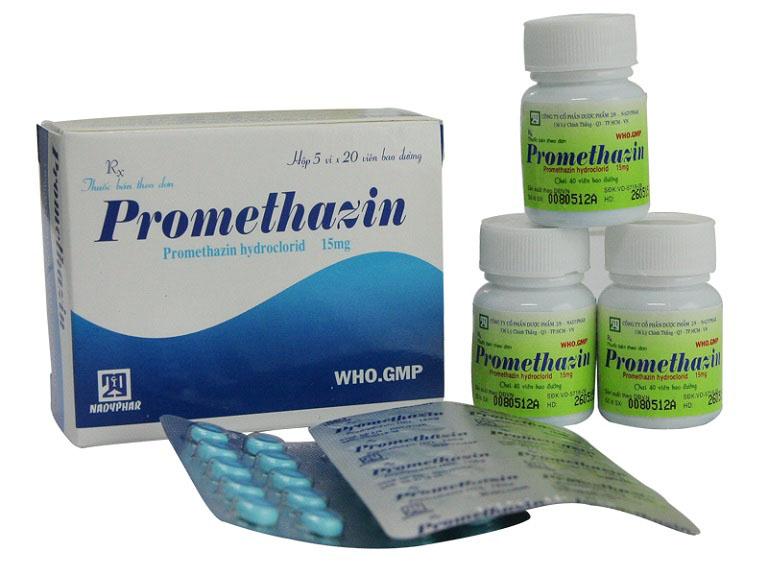 Promethazin Hydroclorid giúp loại trừ tình trạng khô da, ngứa da