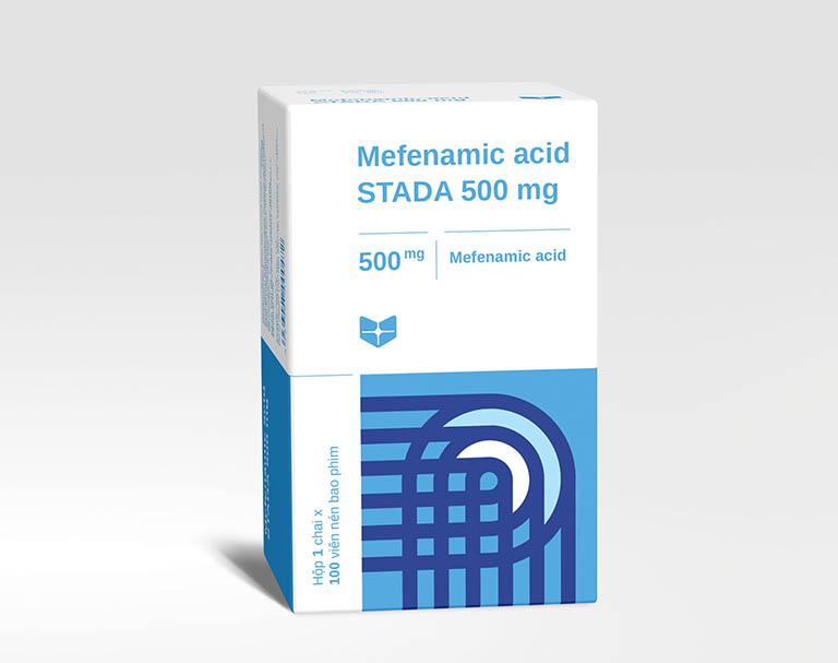 Thuốc chữa đau bụng kinh Mefenamic Acid Stada 500mg