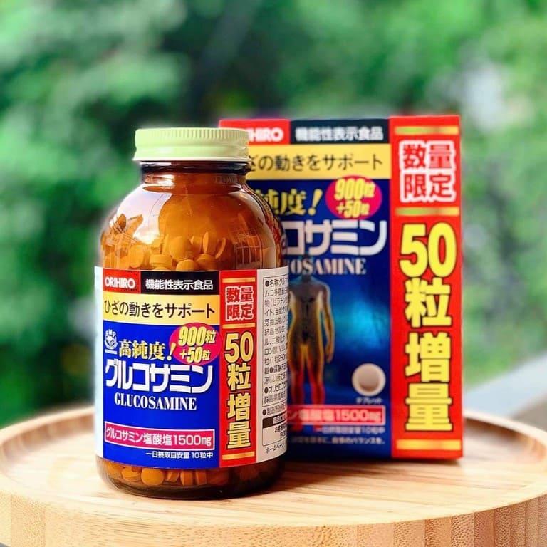Thuốc giảm đau lưng Nhật Bản Glucosamine Orihiro
