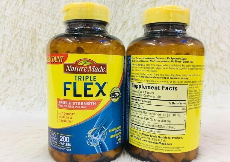 Thuốc chữa đau lưng của Mỹ FLEX