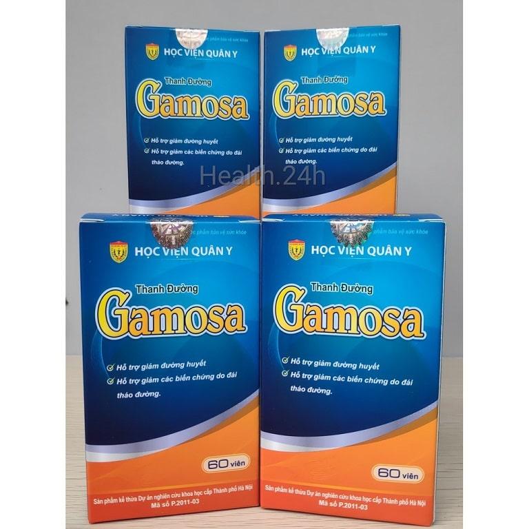 Thanh Đường Gamosa - Thuốc trị tiểu đường của Học viện Quân y 103