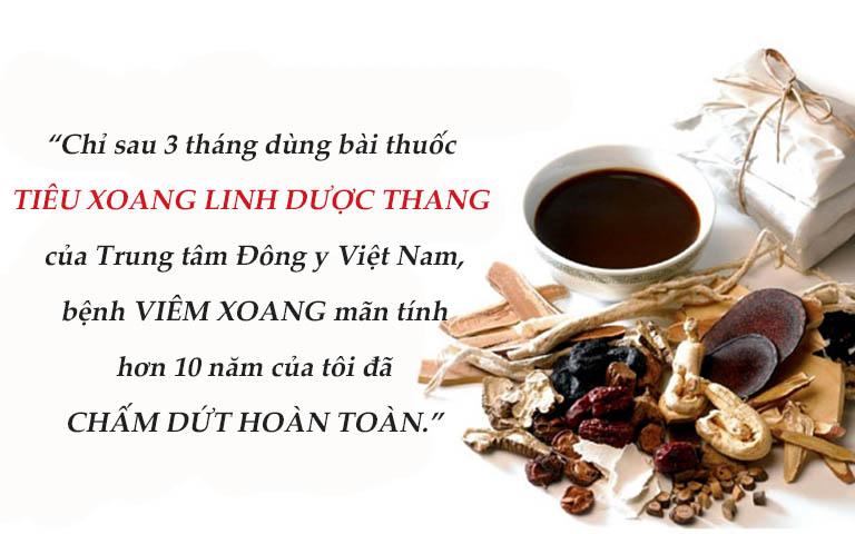 Chỉ cần 3 tháng uống thuốc đều đặn, Hà Trang đã thoát khỏi căn bệnh viêm xoang mãn tính đeo bám suốt nhiều năm