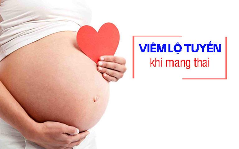Viêm lộ tuyến khi mang thai chủ yếu xảy ra do sự rối loạn nội tiết tố