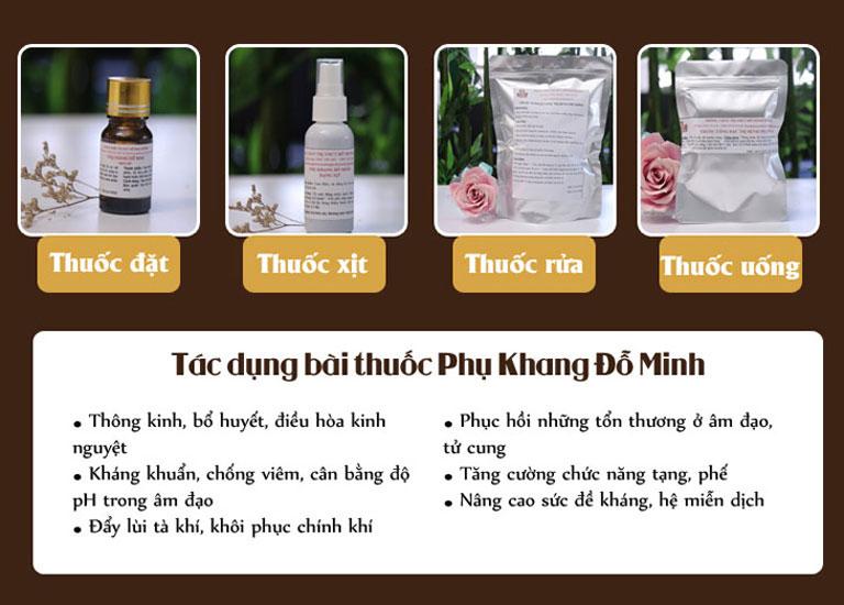 Bài thuốc Phụ Khang Đỗ Minh