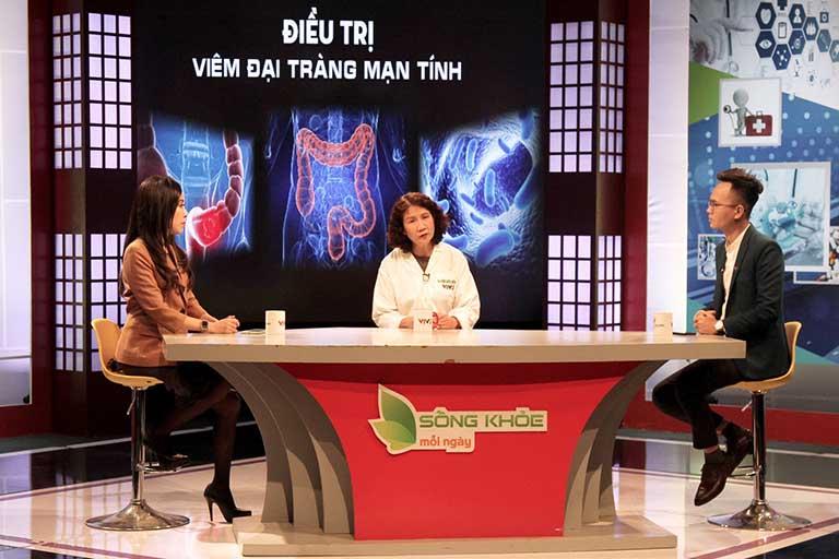 Chương trình VTV2 Sống khỏe mỗi ngày giới thiệu bài thuốc Tiêu thực Phục tràng hoàn chữa bệnh đại tràng