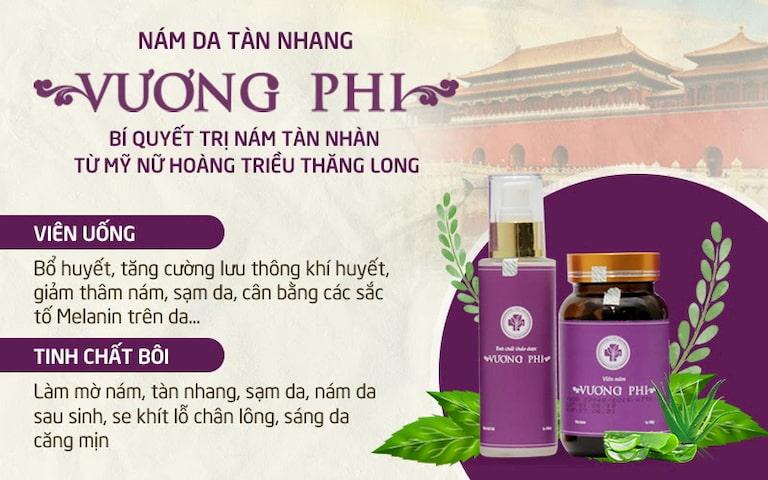 Vương Phi trở thành cứu tinh sắc đẹp của phụ nữ Việt nhờ công dụng trị nám tàn nhang nổi bật