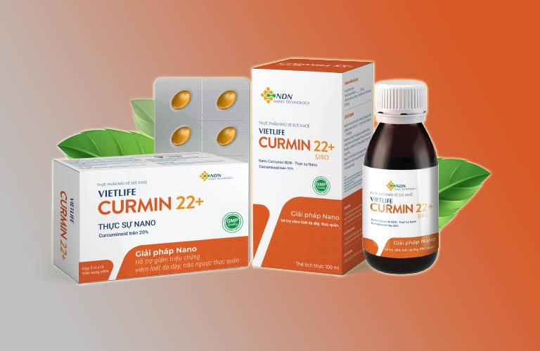 Curmin 22+: Công dụng, giá bán, cách dùng (nano curcumin)