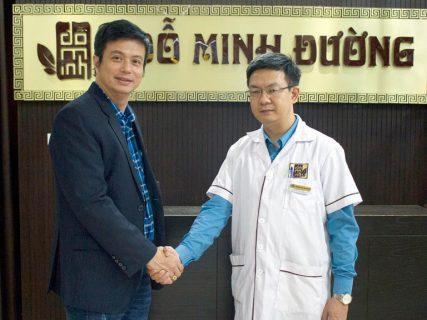 Diễn viên Bá Anh đã chữa khỏi bệnh sinh lý nam tại Đỗ Minh Đường