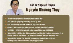 Bác sĩ Nguyễn Khương Thụy - vị bác sĩ giỏi với nhiều năm kinh nghiệm