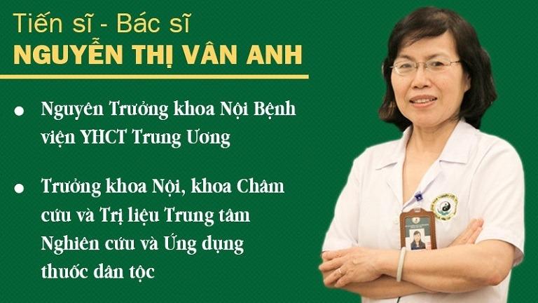 Tiến sĩ, Bác sĩ Nguyễn Thị Vân Anh - Nguyên trưởng khoa nội Bệnh viện YHCT Trung ương đánh giá Phụ Khang Đỗ Minh