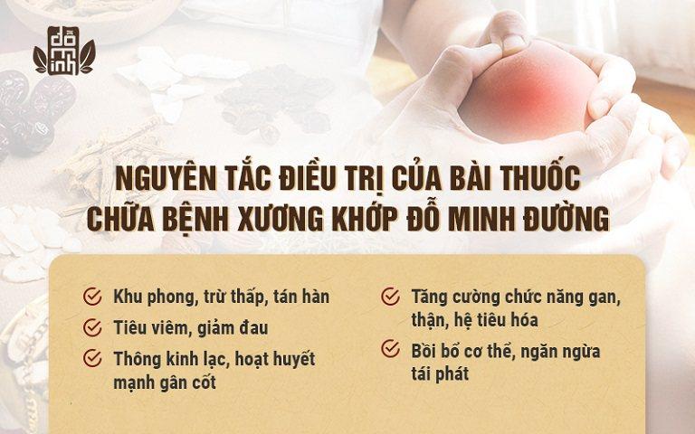 bài thuốc nam gia truyền đặc trị bệnh xương khớp hiệu quả của Đỗ Minh Đường