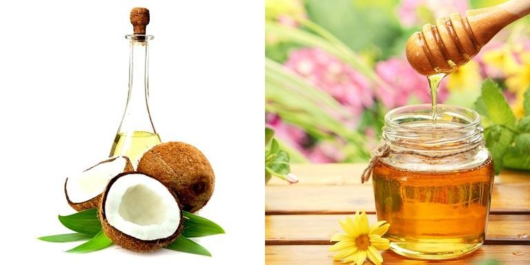 Phục hồi tóc xơ, chẻ ngọn từ mật ong và dầu dừa