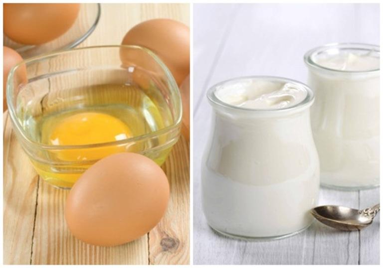 Chăm sóc tóc xơ yếu từ trứng gà và sữa tươi