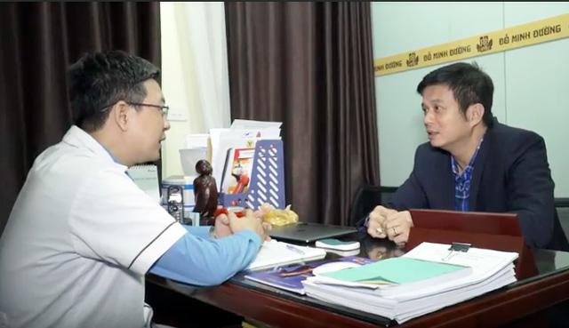 Lương y Đỗ Minh Tuấn tư vấn điều trị chứng suy giảm ham muốn cho diễn viên Bá Anh