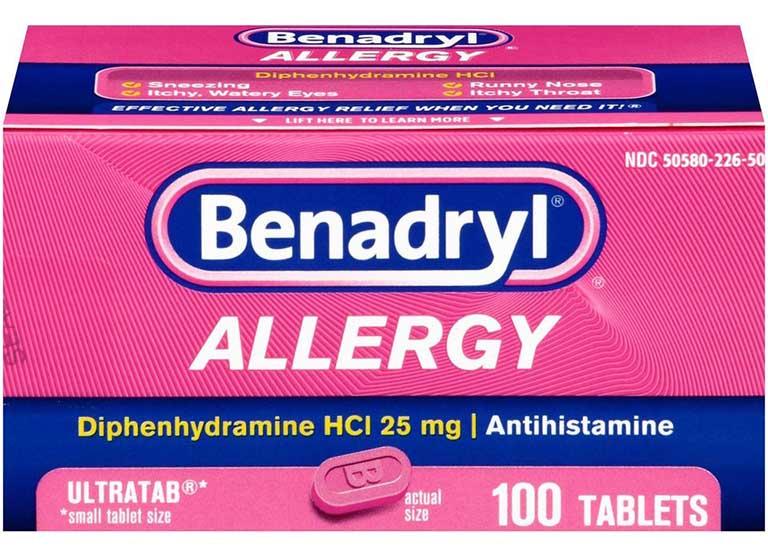 Giá thuốc ngủ Diphenhydramine