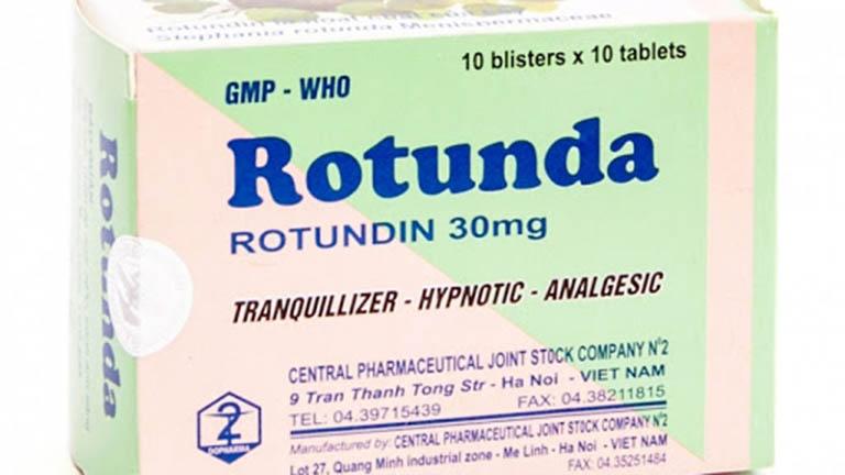Giá tiền 1 vỉ thuốc ngủ Rotundin