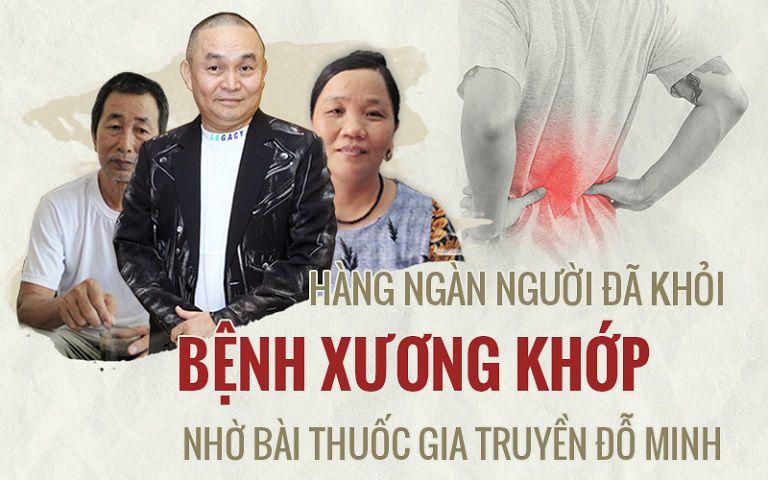 Hàng ngàn người đánh bay bệnh xương khớp nhờ bài thuốc Đỗ Minh