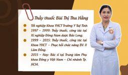 Lương y Bùi Thị Thu Hằng - Thầy thuốc giỏi với nhiều năm kinh nghiệm
