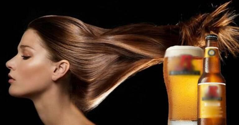 Làm đẹp cho mái tóc với mặt nạ bia