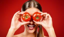 Mặt nạ trị nám trắng da với cà chua