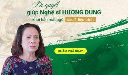 Bí quyết thảo dược giúp nghệ sĩ Hương Dung khỏi hẳn mất ngủ kinh niên