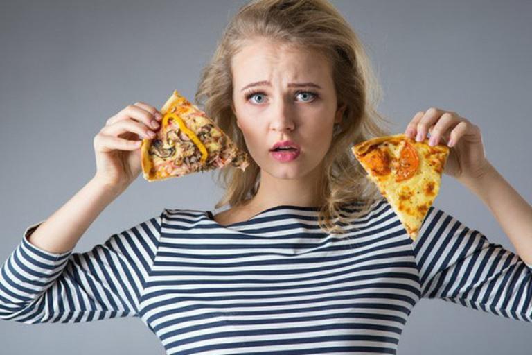 Chế độ ăn uống thiếu khoa học khiến quá trình tiêu hóa thức ăn và đào thải chất dư thừa bị ảnh hưởng