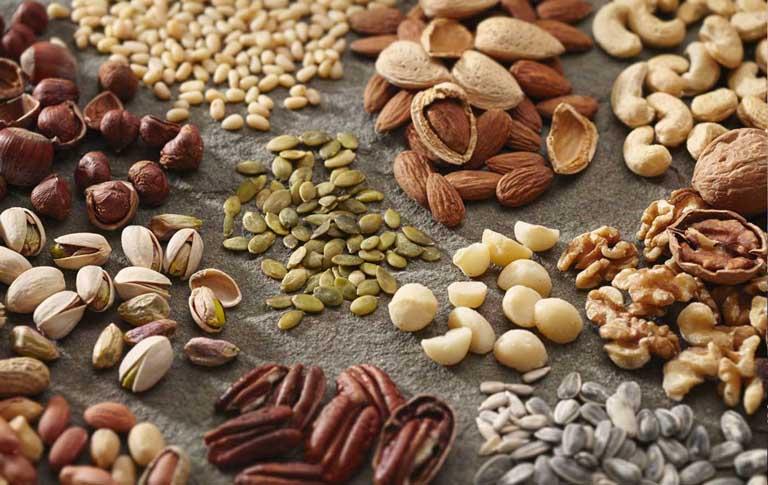 các loại hạt là thực phẩm tốt cho gan